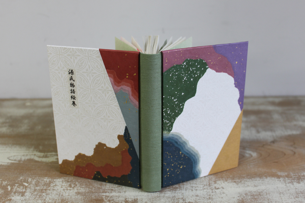 35 「源氏物語絵巻」改装本
