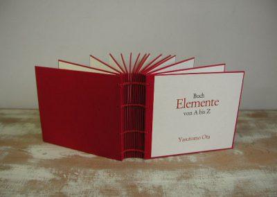 48 Buch-Elemente von A bis Z
