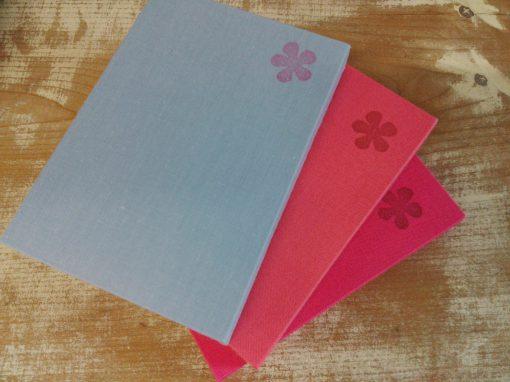 ケース入りノート(お花)