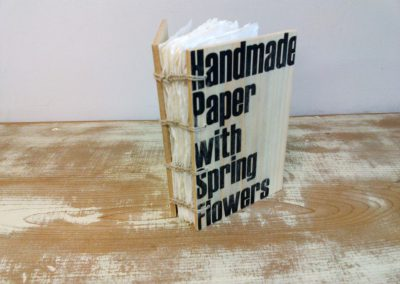 51 Handmade Paper With Spring Flowers