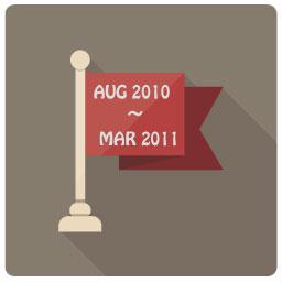 2010年3月~2011年3月