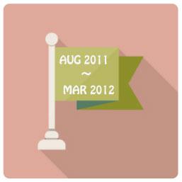 2011年8月〜2012年3月