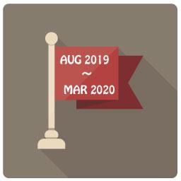 2019年8月〜2020年3月
