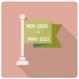 2020年11月〜2021年6月